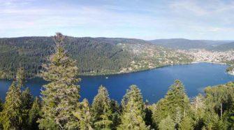 Lake Gerardmer in the Vosges