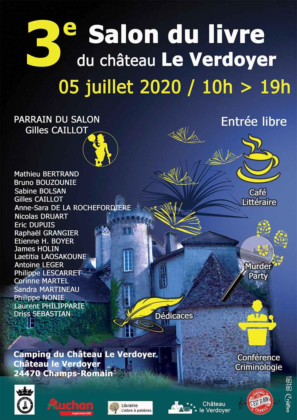 Dordogne camping book fair