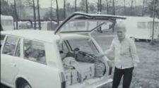Camping dans les années 1960