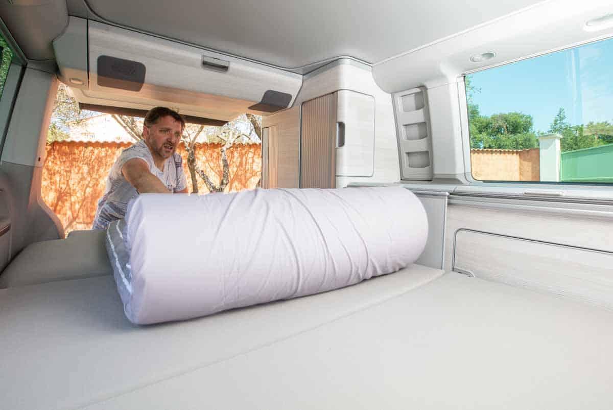 Matelas Duvalay pour camping-car