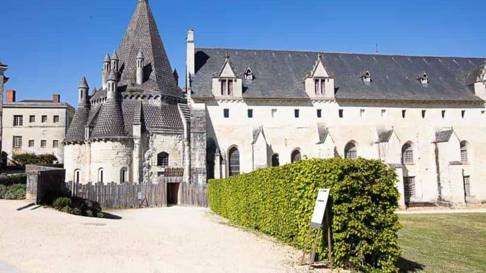 Fontevraud Abbey in Anjou