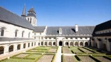 Fontevraud Abbey in Anjou