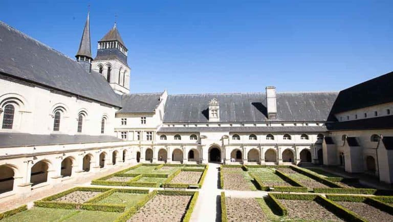 Abbaye de Fontevraud en Anjou