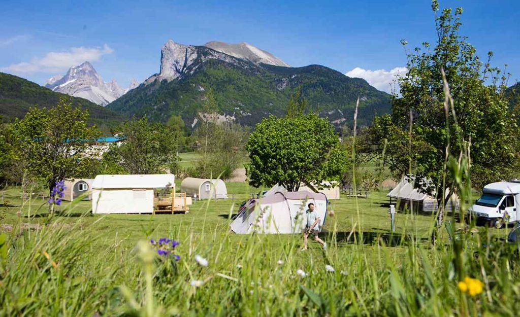 Camping Drôme Lus-la-Croix-Haute
