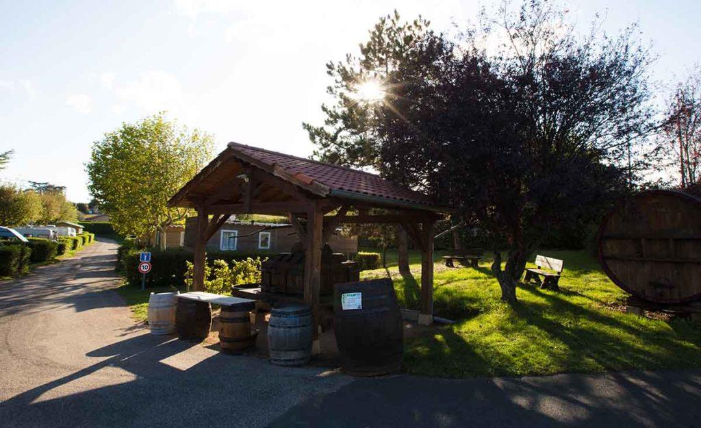 Camping Fleurie Beaujolais