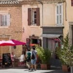 Camping in Gordes in Provence