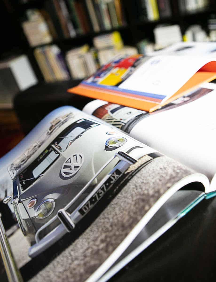 Deux livres sur les Combi VW