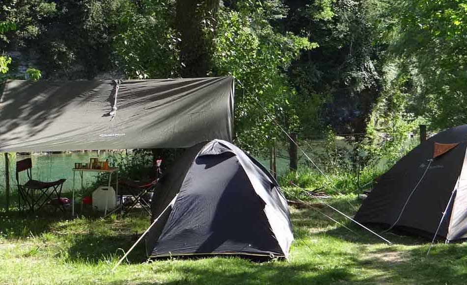 Camping dans les Gorges du Tarn