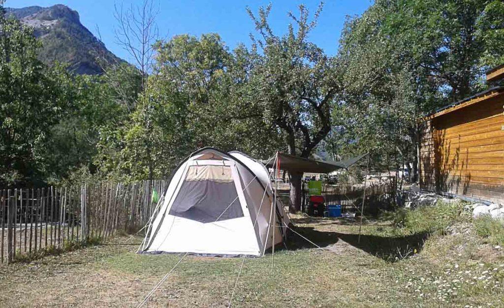 Camping Alpes de Haute Provence Mandala
