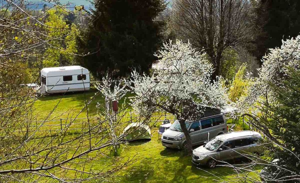 Camping Isère Buisson