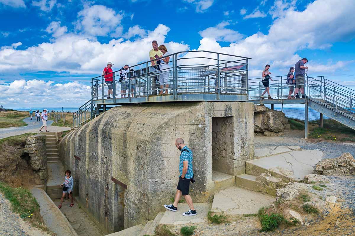 Pointe du Hoc en Normandie