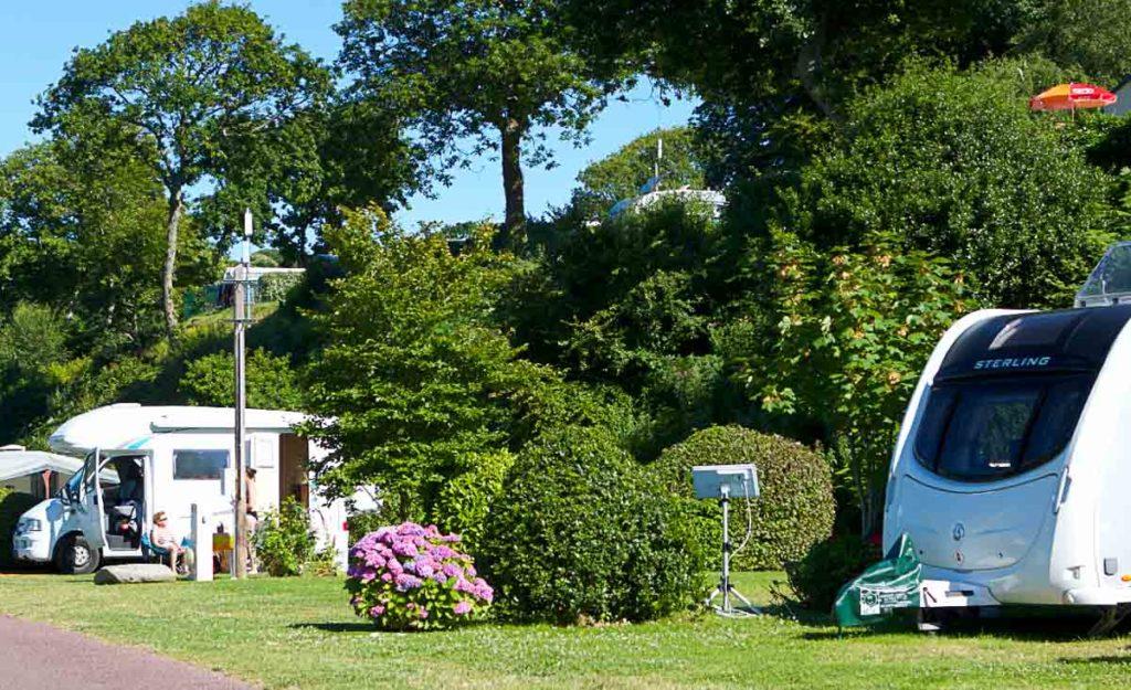 Camping Normandie Anse du Brick