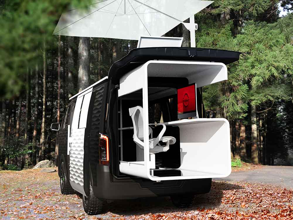 NV350 Caravan Office Pod Concept Pod