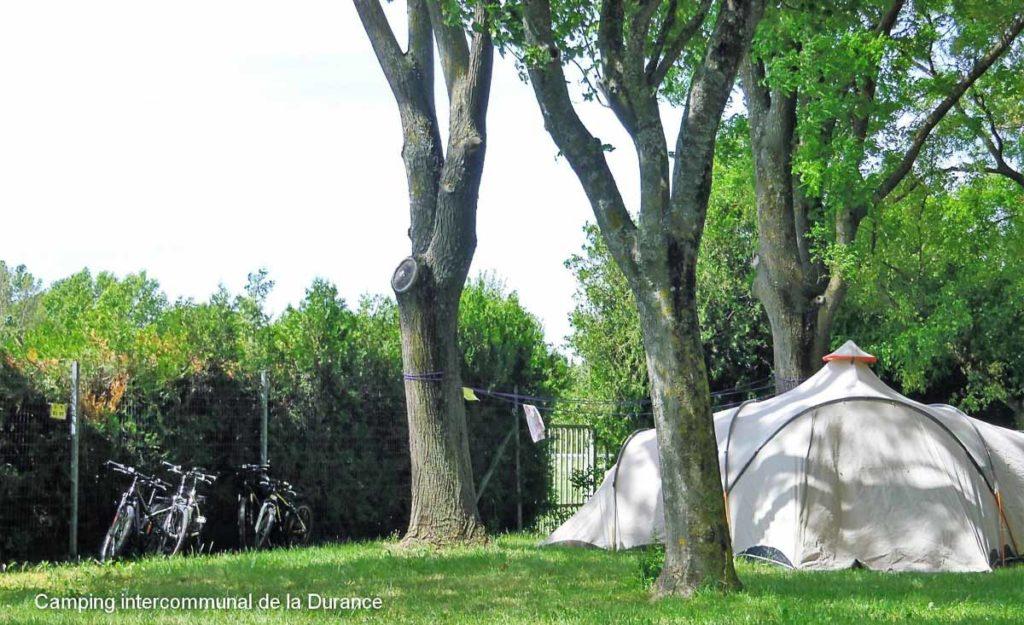 Camping Vaucluse la Durance