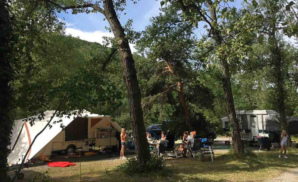 Camping Drôme les Chapelains