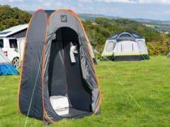 Tente toilette en camping