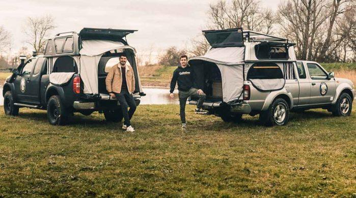 Transformer son pick-up en camping-car
