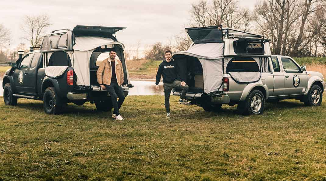 Transformer son pick-up en camping-car