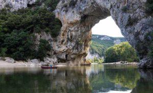 Camping en Ardèche à Vallon Pont d'Arc