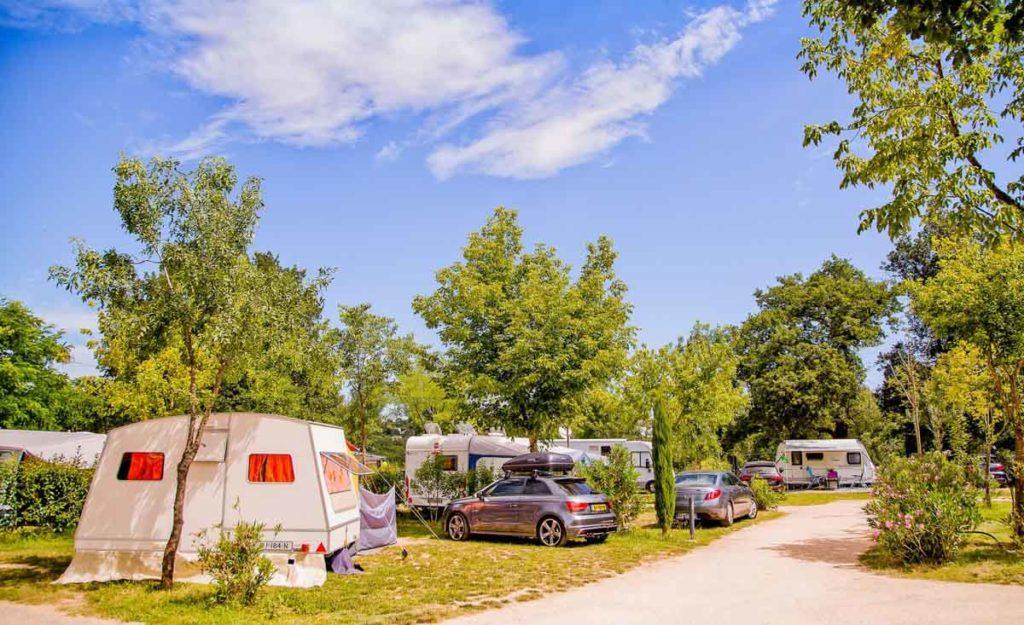 Camping en Ardèche pour caravane