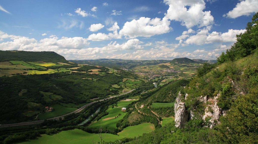 Vallée du Tarn en Aveyron