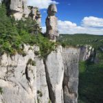 Camping in Tarn Gorges